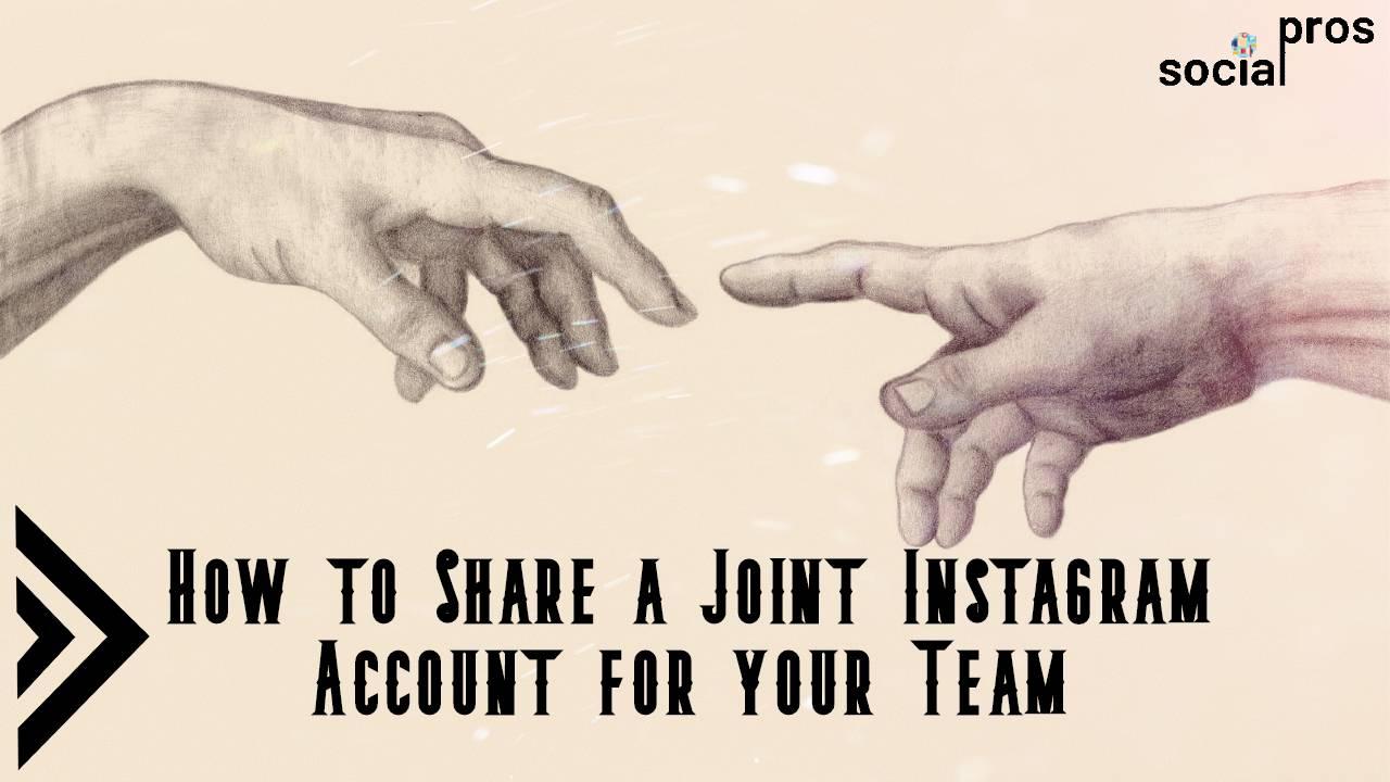 Joint Instagram account