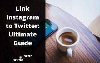 Link Instagram to twitter