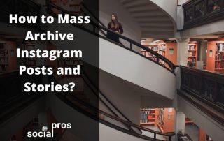 mass archive instagram