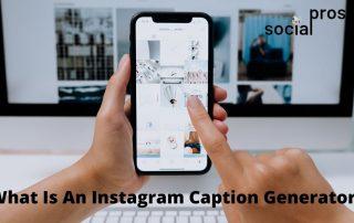 Instagram caption generator