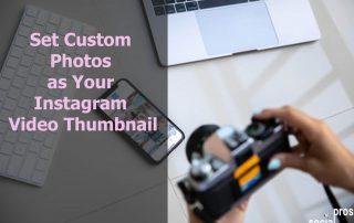 Instagram Video Thumbnail