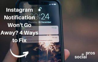 Instagram Notifications Won't Go Away?